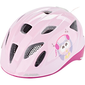 Alpina Ximo Flash Casco Niños, happy-owls
